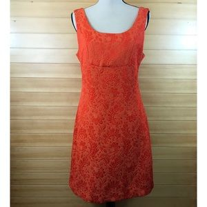 What Comes Around Goes Around  Brocade Dress